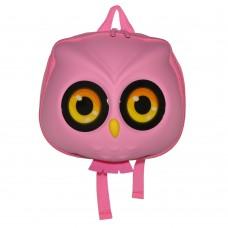 Детский рюкзак SUPERCUTE в виде совы розовый