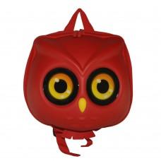 Детский рюкзак SUPERCUTE в виде совы красный