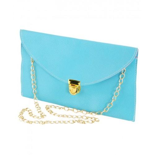 Клатч-конверт TRAUM 7210-17 голубой