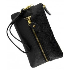 Гаманець-ключниця TRAUM 7203-01 чорний