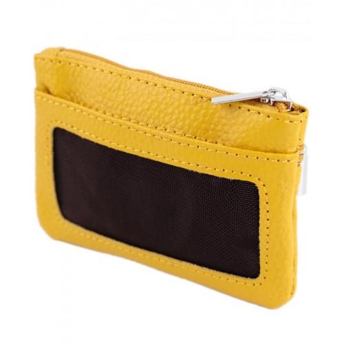 Кошелек-ключница TRAUM 7205-01 желтый