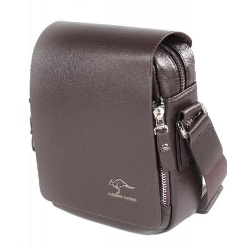 Сумка-планшет TRAUM 7171-02 Kangaroo темно-коричневая