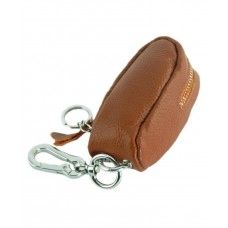 Чехол для ключей TRAUM 7111-01 коричневый