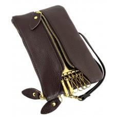 Кошелек-ключница TRAUM 7203-02 темно-коричневый