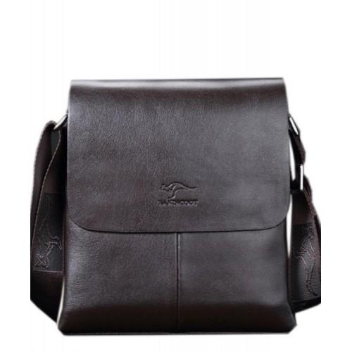 Сумка-планшет TRAUM 7171-20 темно-коричневая