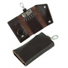 Чехол для ключей TRAUM 7111-11 темно-коричневый