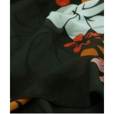 Шаль-парео TRAUM 2497-02 чорна