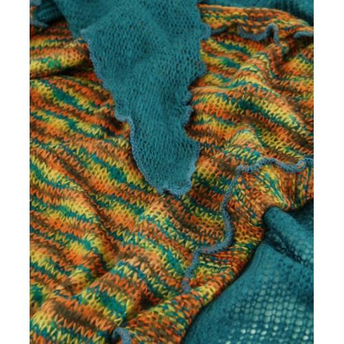 Платок TRAUM 2483-16 синий