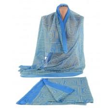 Шарф TRAUM 2495-92 голубой