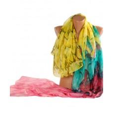 Шаль TRAUM 2495-01 разноцветная