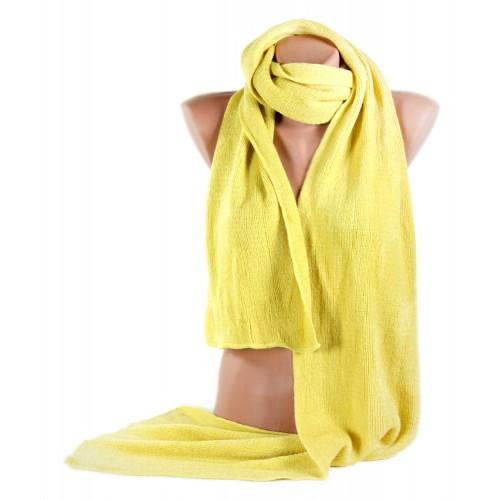 Шарф TRAUM 2492-12 желтый