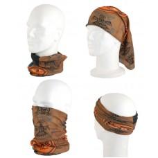 Снуд-повязка TRAUM 2522-22 коричневый