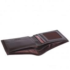 Портмоне шкіра GRASS 398-4 коричневий гладкий