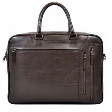 Портфель мягкий кожа BOND 1095-286 коричневый