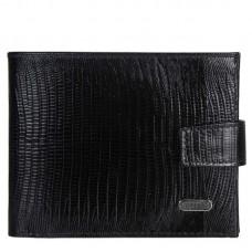Портмоне кожа CANPEL 1106-8 черный лазер