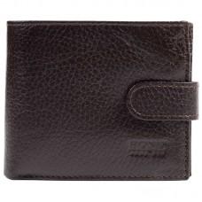 Портмоне кожа BOND 501-286 коричневый флотар