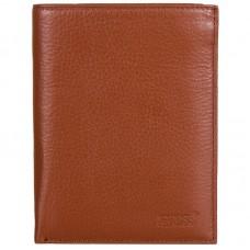 Портмоне кожа GRASS 340-16/14 коричневый-рыжий