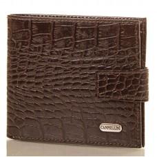 Портмоне кожа CANPEL 1045-11 коричневый кроко