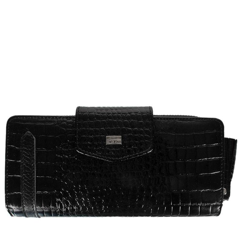 9af3814d730d Кошелек женский кожа Desisan 731-633 черный мелкий кроко купить в ...
