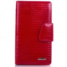 Візитниця шкіра KARYA 008-074 червоний лазер