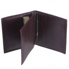 Кредитница кожа DESISAN 074-9 коричневый флотар