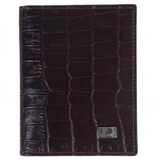 Кредитница кожа DESISAN 074-19 коричневый кроко
