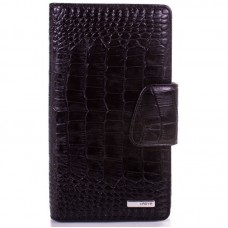 Візитниця шкіра KARYA 008-53 чорний кроко