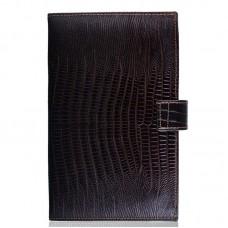 Визитница кожа Desisan 209-142 коричневый лазер