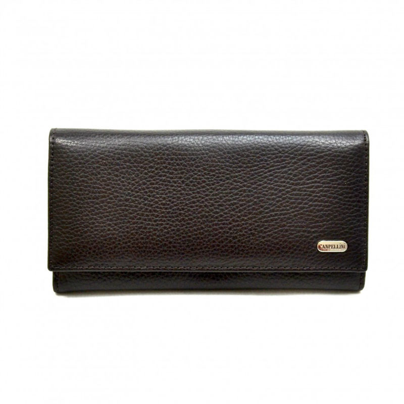 76ce57af4dcd Кошелек женский кожаный CANPEL 157-14 коричневый флотар   Продажа ...