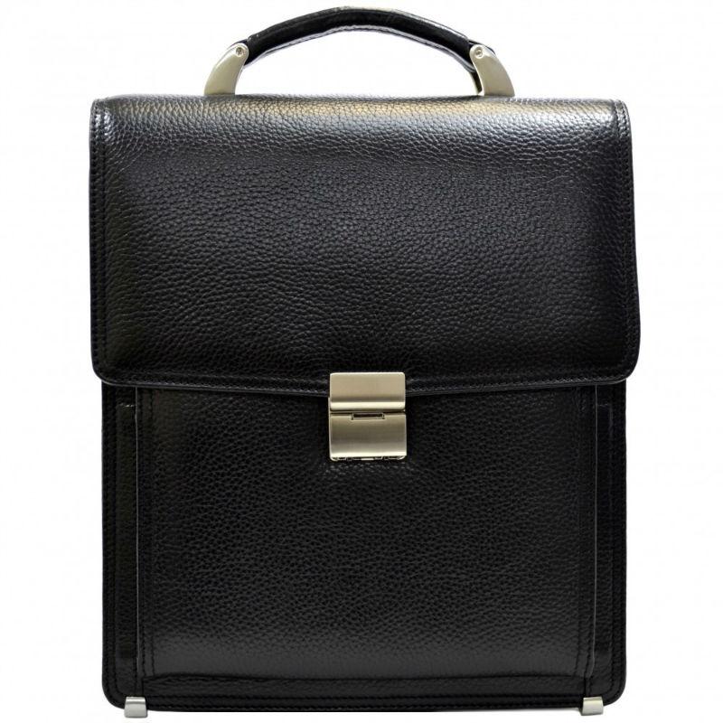 cfd76d4cd09a Портфель кожаный Desisan 5009-011 черный флотар | Продажа, обзор, дешево