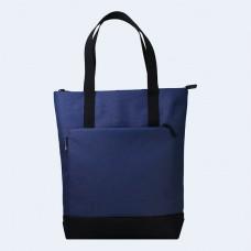 Синяя сумка шоппер TWINSSTORE Ш151