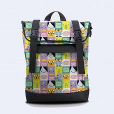 Рюкзак Rolltop medium Adventure Time TWINSSTORE Р84