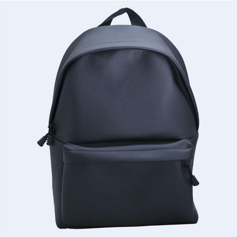 4c0a44ab3c64 Черный кожаный большой рюкзак TWINSSTORE Р57 купить в Киеве недорого ...