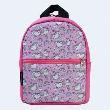Детский розовый рюкзак с единорогами TWINSSTORE Р70