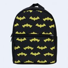 Детский черный рюкзак с бэтменом TWINSSTORE Р71