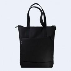 Черная сумка шоппер TWINSSTORE Ш148