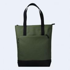 Зеленая сумка шоппер TWINSSTORE Ш149