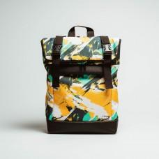 Рюкзак Rolltop medium Сolorful Р97 желтый