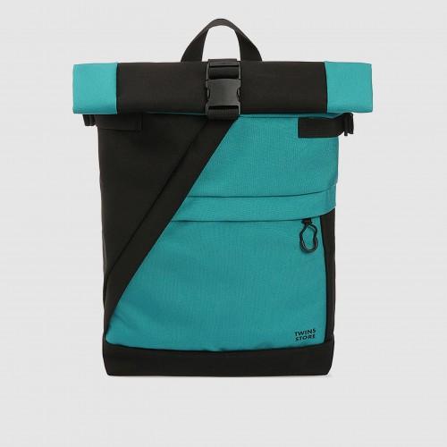 Рюкзак Rolltop Cordura Р106 голубой