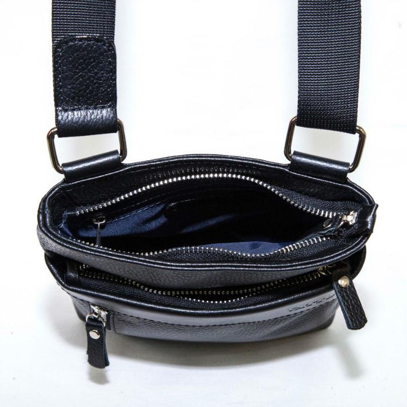 224fa935416f Мужская сумка маленькая VATTO Mk13Fl8Kaz1 черная купить в Киеве ...