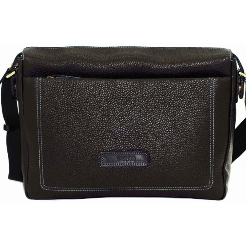 9552ba4f8407 Мужская сумка VATTO Mk33Fl8 черная купить в Киеве недорого | Продажа ...