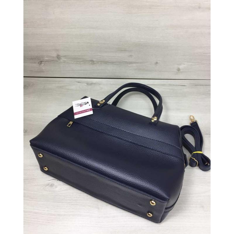 d96fe0593e0b Женская сумка Welassie Ирен синего цвета 55703 купить в Киеве недорого