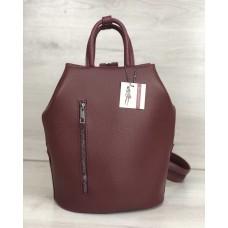 Молодіжний рюкзак Габі бордового кольору 44907