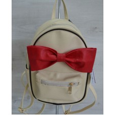 Молодежный рюкзак Welassie «Мики» бежевый 43203