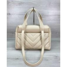 Жіноча сумка «Грейс» бежева Welassie 63209