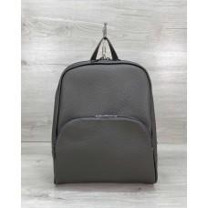 Женский рюкзак «Дин» серый Welassie 46601