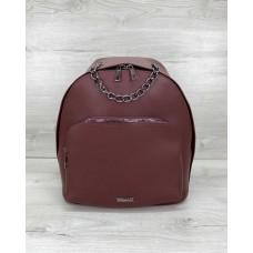 Женский рюкзак «Андрес» бордовый Welassie 46707