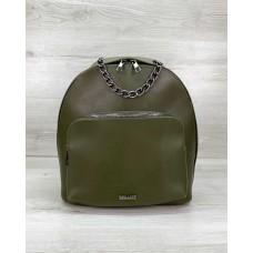 Женский рюкзак «Андрес» оливковый Welassie 46708