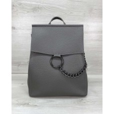 Сумка рюкзак «Марио» серый Welassie 46501