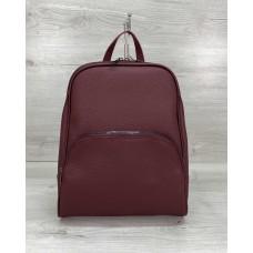 Женский рюкзак «Дин» бордовый Welassie 46607